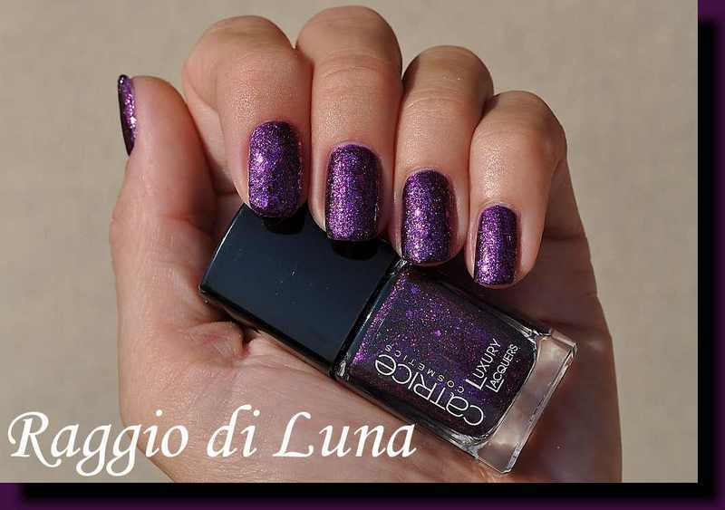 Catrice Luxury Lacquers Million Brilliance n° 05 Plum Fiction Swatch by Tanja
