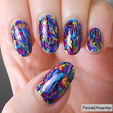 Microscopic Minerals nail art by Kerry_Fingertips