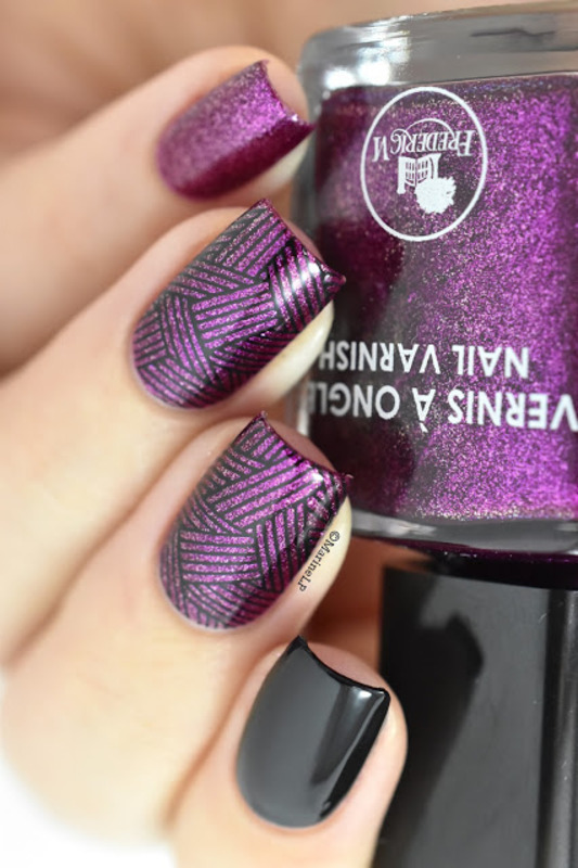 Geometric skittlette nail art by Marine Loves Polish