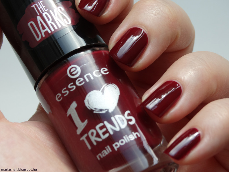 Essence I Love Trends 15 Red I am Swatch by Maria