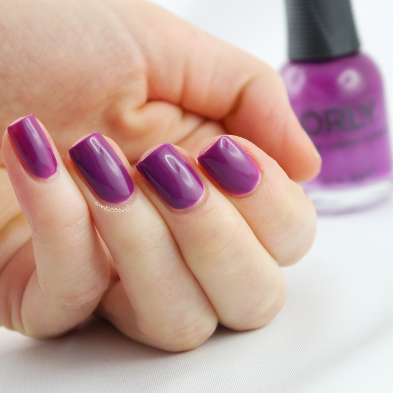 Orly Off Beat Swatch by Ann-Kristin