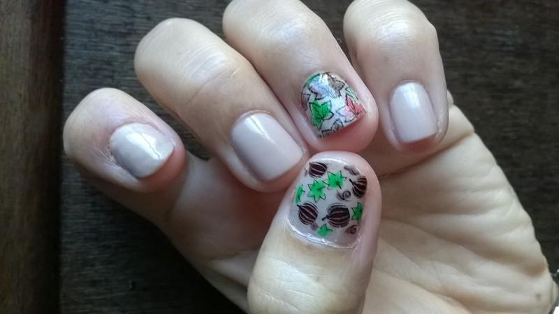 Autumn  nail art by Avesur Europa