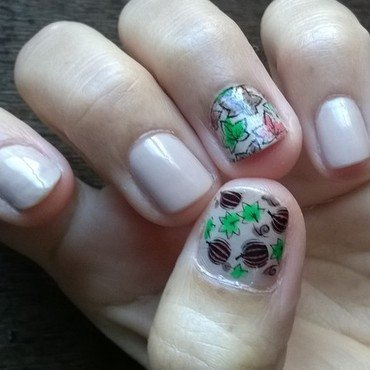 Autumn  nail art by Avesur Europa
