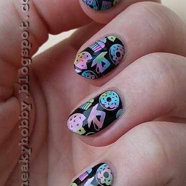 Eliza's Project - Sweets nail art by Mgielka M