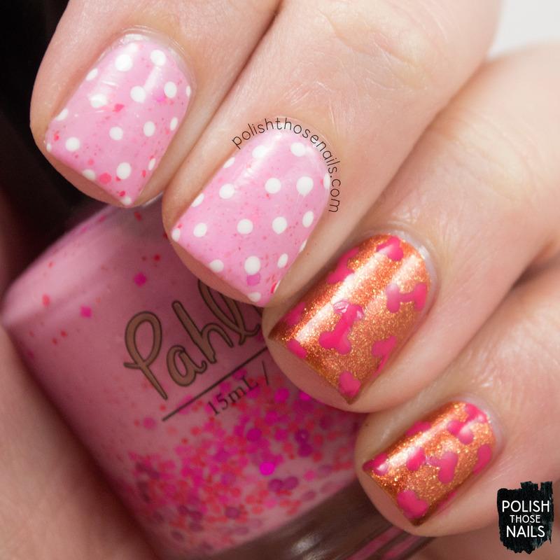 Pink Puppy nail art by Marisa  Cavanaugh