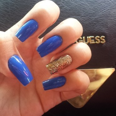Sinfulcolors Endless Blue Swatch by Jacquelin