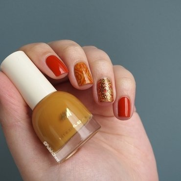 The ultimate Fall Manicure nail art by Danny