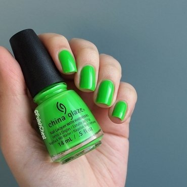 China Glaze Drink up Witches Swatch by Danny
