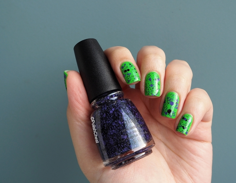 China Glaze Cackle if you want to Swatch by Danny