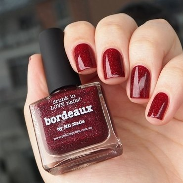 piCture pOlish Bordeaux Swatch by Danny