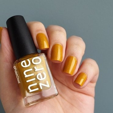 Nine Zero Lacquer Corn Maize Swatch by Danny