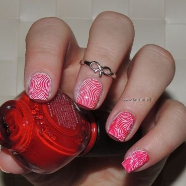 Human or NOT Human nail art by Ka'Nails