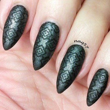 Textured Sweater Weater nail art by Nora (naq57)