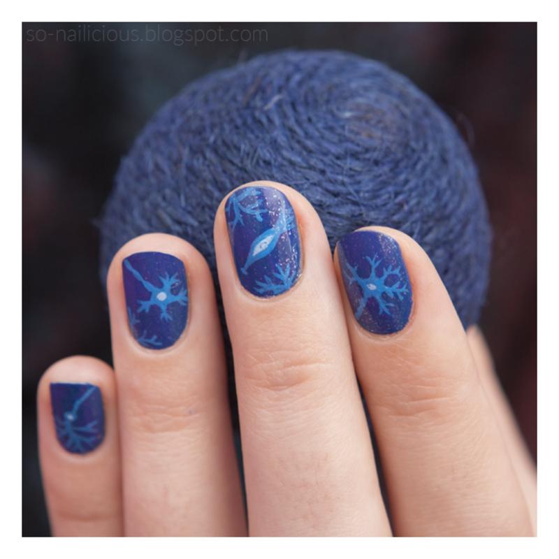 Naurons nail art by Magdalena