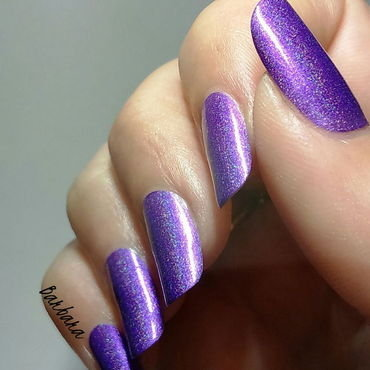 Lilypad Lacquer Purple People Eater Swatch by Les ongles de B.