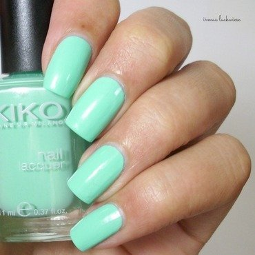 Kiko Mint Milk Swatch by irma