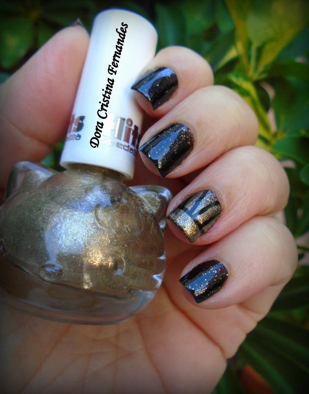 Fancy  nail art by Dora Cristina Fernandes