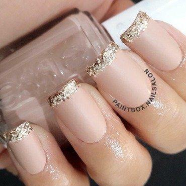Chic wedding nails nail art by Paintbox Nail Salon
