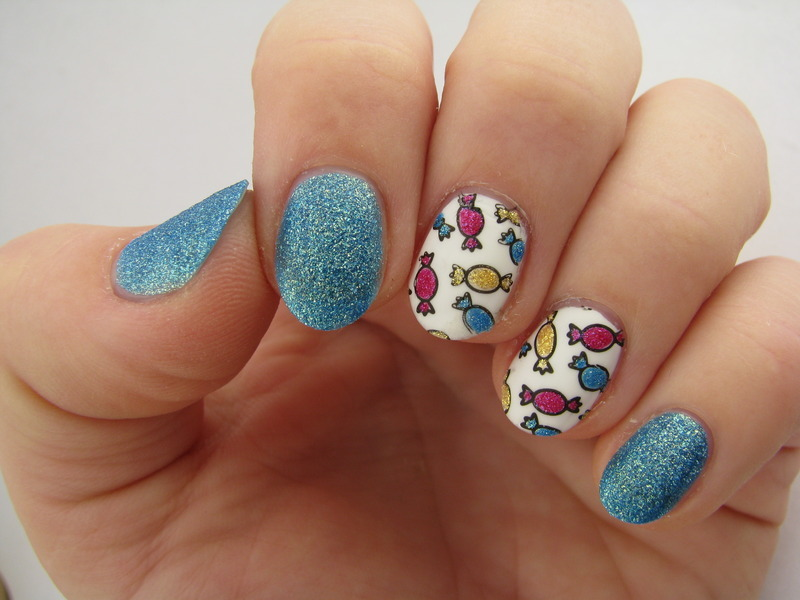 Candy nail art by Nail Crazinesss