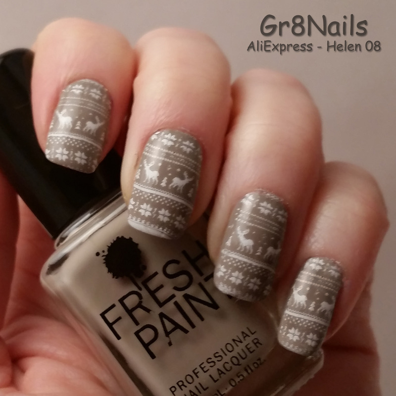 Fall Ugly Sweater  nail art by Gr8Nails