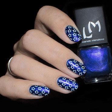 Vernis à Stamping Bleu Ciel - LM nail art by Lizana Nails