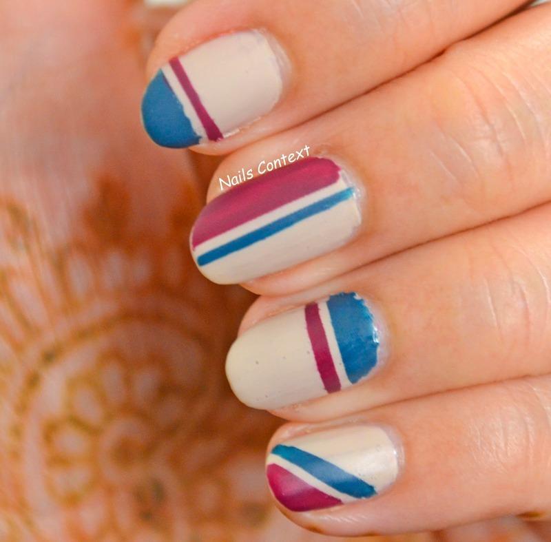 Matte Nails  nail art by NailsContext