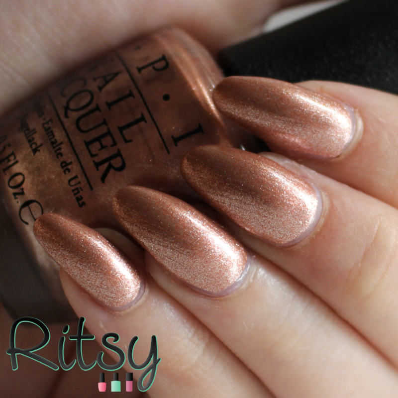 OPI Worth a Pretty Penne Swatch by Ritsy NL