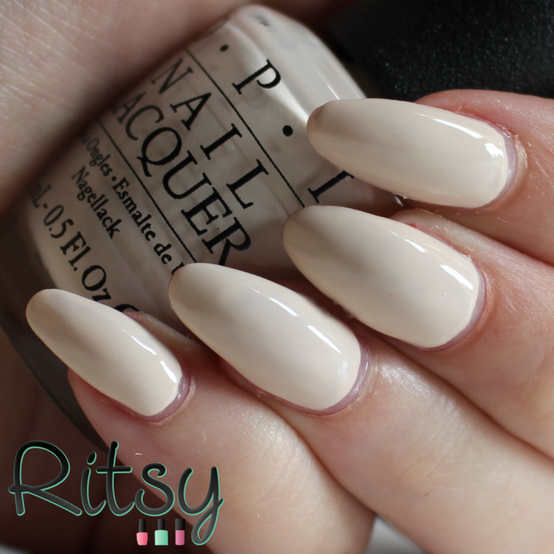 OPI Be There in a Prosecco Swatch by Ritsy NL
