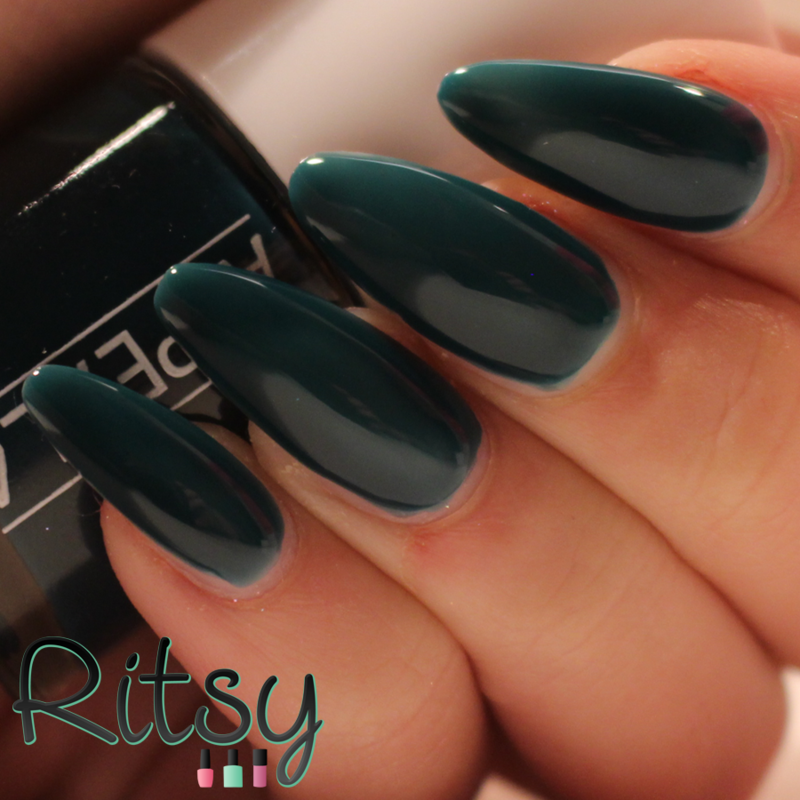 Appeal4 Midnight Green Swatch by Ritsy NL