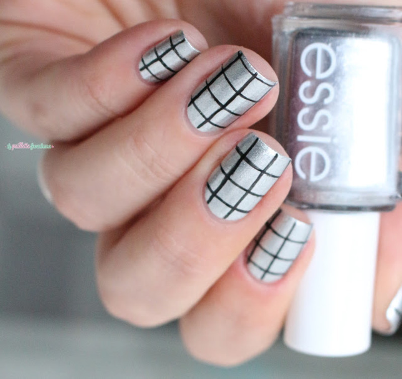keep it simple nail art by nathalie lapaillettefrondeuse