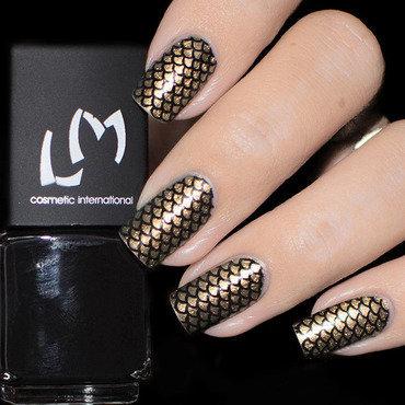Vernis à Stamping Noir - LM nail art by Lizana Nails