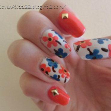 A la Marimekko nail art by girasol