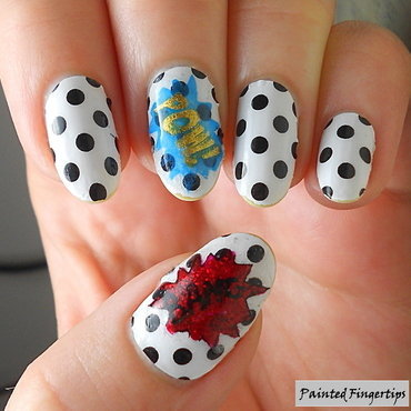 Pop art nail art thumb370f