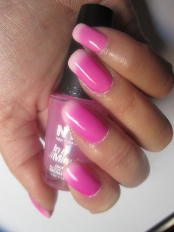 NYC Grand Central Station and Franken Fuschia Mood Swatch by NinaB