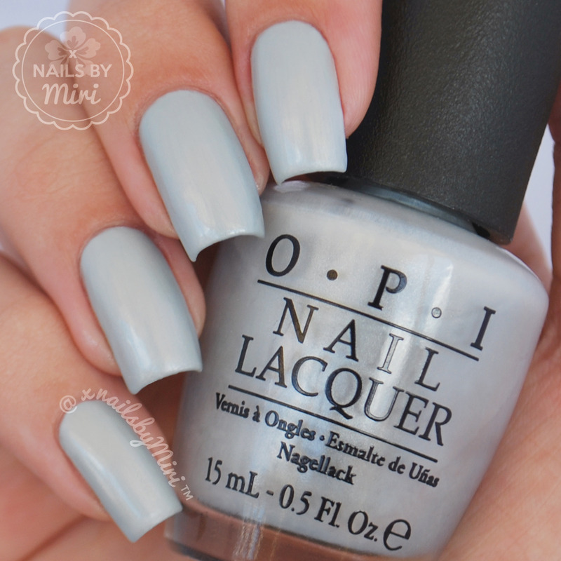 OPI I vant to be A-lone star Swatch by xNailsByMiri