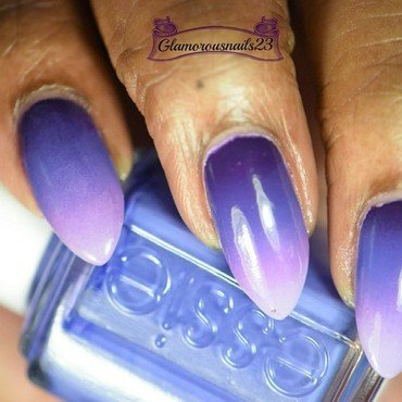 HPB Presents: Monochromatic Purple  nail art by glamorousnails23