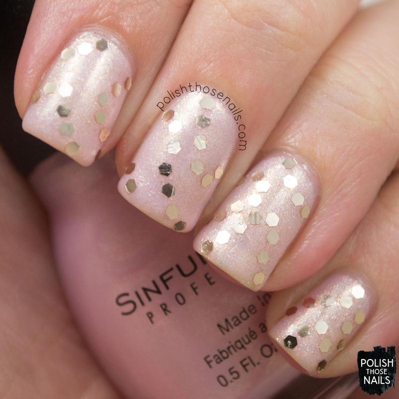 Glassly Glequins nail art by Marisa  Cavanaugh