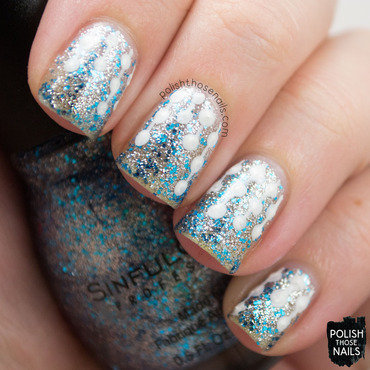 Sinful colors ice dream silver blue glitter icicle nail art 3 thumb370f