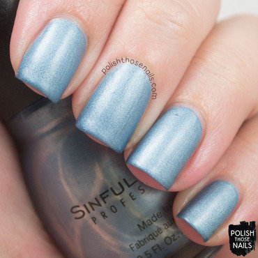 Sinfulcolors Blue Sensation Swatch by Marisa  Cavanaugh