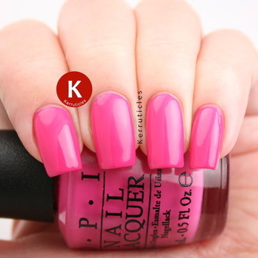 OPI Kiss Me on My Tulips Swatch by Claire Kerr