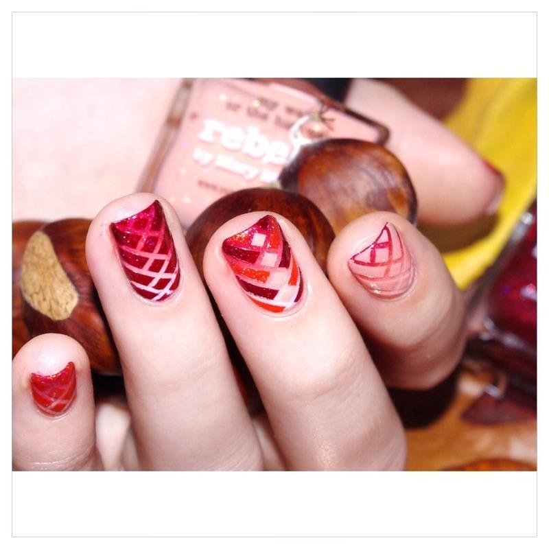 Fall nails nail art by Bulleuw