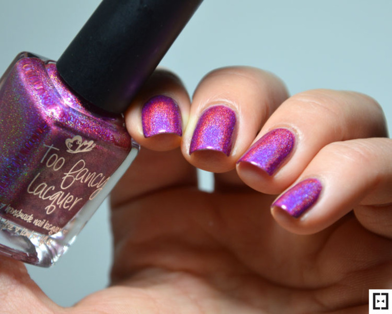 Too Fancy Lacquer Magnifique ! Swatch by Sweapee