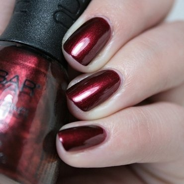 Nubar Torrid Red Swatch by Romana