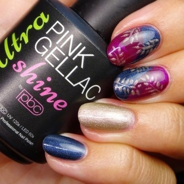 Majestic Leaves nail art by Love Life Lacquer