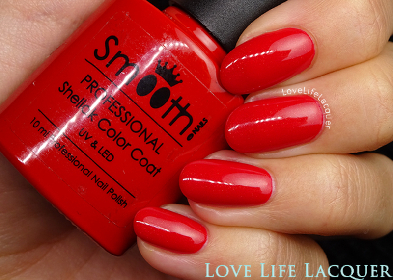SmoothNails Hollywood Swatch by Love Life Lacquer
