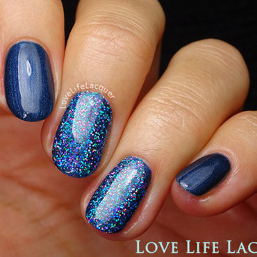 Magpie Beauty Amira nail art by Love Life Lacquer