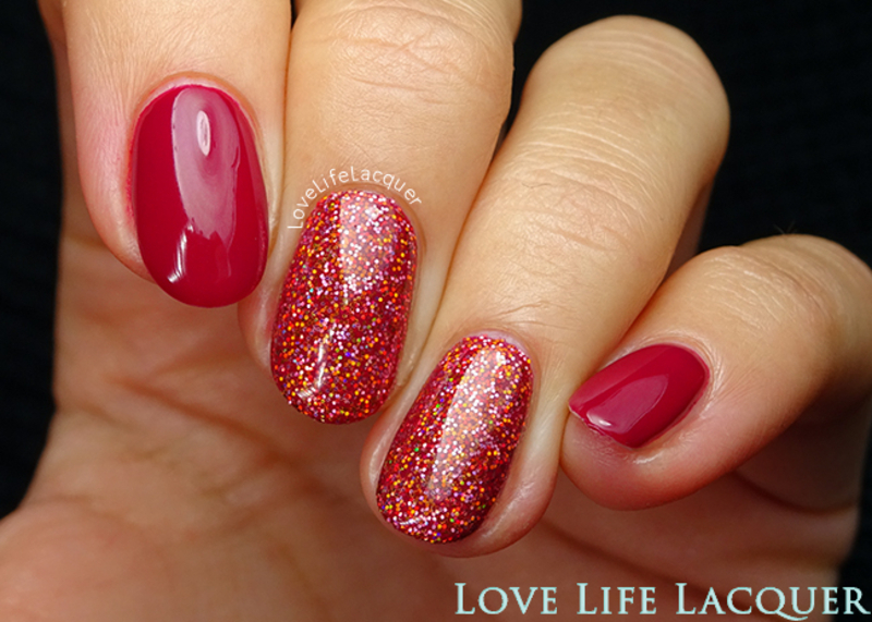 Magpie Beauty Genna nail art by Love Life Lacquer