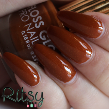 Floss gloss Donatella Swatch by Ritsy NL