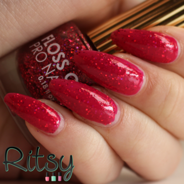 OPI Pen & Pink and Floss gloss Second Base Swatch by Ritsy NL