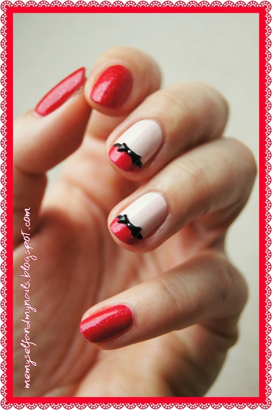 Bowties nail art by ELIZA OK-W